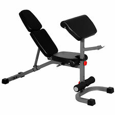 XMark Fitness FID Weight Bench with Preacher Curl XM-4417