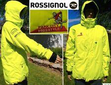 ROSSIGNOL ski jacket 10000mm waterproof breathable freestyle ski team hood men L