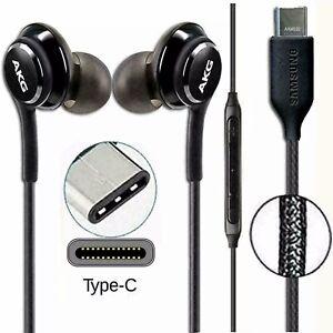 USB TYPE C AKG EARPHONES HEADPHONES for Samsung GALAXY NOTE 10 10+ S20