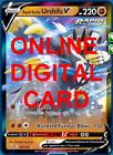 1X Rapid Strike Urshifu V 087/163 Battle Styles Pokemon Online Digital Card