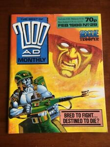 THE BEST OF 2000 AD MONTHLY # 29 VG ROGUE TROOPER 1988