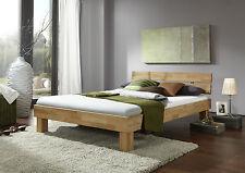 Jud140E / 140x200 Bett Doppelbett Jugendbett Kernbuche Massiv Geölt