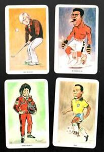 1979 Venorlandus UK Card Set (48) Muhammad Ali Pele Jack Nicklaus Mario Andretti