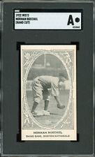 1922 W573   Norman Boeckel  Braves SGC !!!