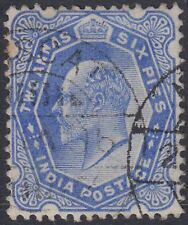 India used in Muscat Oman, 2a6p ultramarine SG# Z48 [sr3332]
