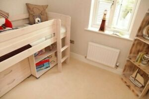 Child bed with mattress, Drawers, Cupboard, FREE DELIVERY 40 miles FROM RETFORD