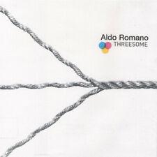 """ALDO ROMANO """"THREESOME""""  cd sigillato"""