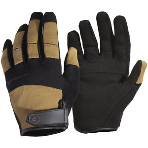 Pentagon Mongoose Gloves Tactical Forces Anti Sweat Suede Leather Gear Coyote