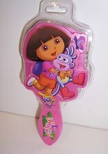 "DORA THE EXPLORER & Boots ""Hola!"" DELUXE DIECUT Pink HAIR BRUSH Comb NEW!!"