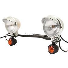 A Light Bar Kit LED Turn Signals Driving Passing Fog Lights For Honda Shadow