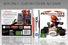 NINTENDO DS : MARIO KART DS. ENGLISH. COVER CUSTOM + ORIGINAL BOX. (NO GAME).