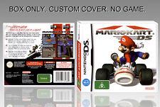 NINTENDO DS : MARIO KART DS. ENGLISH. COVER CUSTOM + ORIGINAL BOX. (NO GAME).