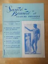 SANTE BEAUTE et CULTURE PHYSIQUE muscle magazine/l'ANTIQUITE GRECQUE 1964