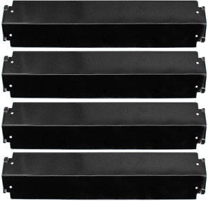Porcelain Steel Heat Plate Shield 16 Inch Gas Grill Burner Covers For Charbroil