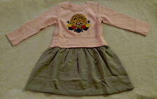 NWT Hanna Andersson Make it Magic Lion Applique Dress 100 4 Girls