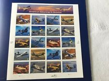 US SCOTT 3916-3925 PANE OF 20 ADVANCES IN AVIATION STAMPS 37 CENT MNH