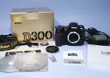 Nikon D300 12MP Semi-Pro Digital SLR Camera Black Body * Boxed * 14037 Shutter