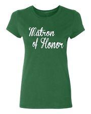 MATRON of HONOR wedding gift bridal party team bride Women's T-shirt