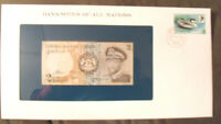 Banknotes of all Nations Lesotho 1981 2 Maloti UNC P 4a Prefix A/81