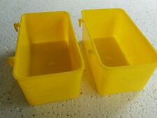 Imported Birds feeding cup l Big 2 nos | Cage hanging type | Water Feeder