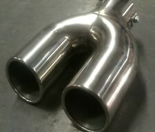 SALE universal exhaust muffler TIP stainless steel clip on type 2/2.25/ 2.5 inch