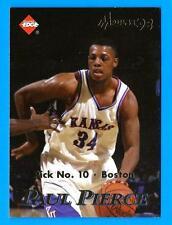 1998 Collector's Edge Impulse PAUL PIERCE (ex-mt) Celtics RC Kobe Bryant on back