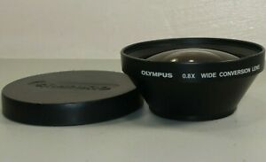 Olympus B28 0.8x Wide Angle f/55mm Lens Conversion Lens *GOOD* Free Shipping!