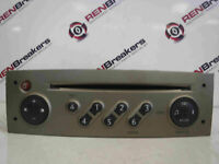 Renault Megane + Scenic 2003-2009 Radio Cd Player Update List Code Beige