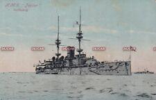 "Royal Navy Postcard. HMS ""Jupiter"" Battleship. Stephen Cribb Photo. c 1895"