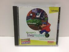 Morgan's Trivia Machine Jr Condensed Version Pc Cd-Rom Ages 7-14 1995