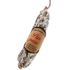 """Plain """"Pur Pork"""" Saucisson from the French Alpes 210g"""