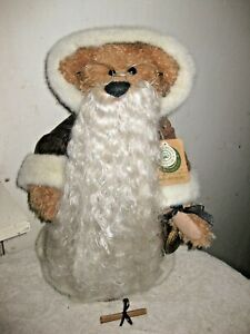 "Boyds Bears Omega T. Legacy 2000 Millennium Bear 17"" MILLENIAL DISPLAY EVC   A3"