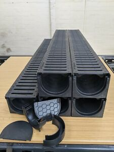 DRAINAGE CHANNEL DRIVEWAY & PATIOS 5mtr Plastic Grating Inc FREE ACCESSORIES
