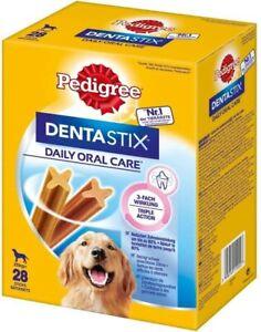 Pedigree DentaStix Daily Oral Care Zahnpflegesnack für Hunde – 84Stück