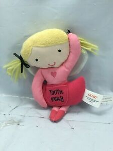 """Gund Toothfairy Ballerina Pal Stuffed Plush with tooth pocket 7"""" Free Shipping"""