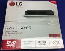 Lg Cd Dvd Player with Usb Direct Recording Black Dp132 w/ Remote