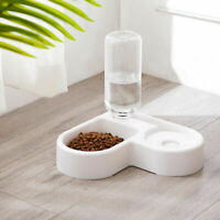 Automatic Pet Cat Bowl Dog Water Feeder Bowl Drinking Food Dish Corner-mounted