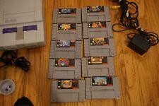 Super Nintendo SNES system Console Bundle Lot rare games earthbound mario donkey