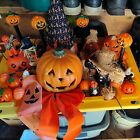 vintage halloween decorations lot.  Over 20 items included