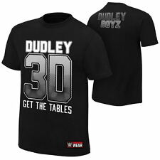 Wwe Dudley Boys Team 3D Official Licensed Authentic Adult Mens T-Shirt Large