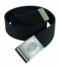 Dickies Black Canvas Casual Work Belt One Size Be500