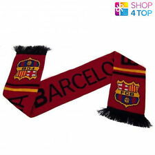 FC BARCELONA ST FAN SCARF SCARVES OFFICIAL FOOTBALL SOCCER CLUB TEAM NEW