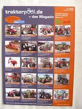0267) Traktorpool.de - das Magazin zur Agritechnica - Prospekt Brochure 12.2003