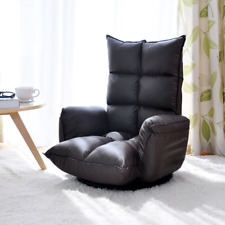 Collapsible Multi-File Adjustment Rotating Chair Sofa 360 Degree Swivel Modern