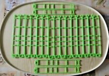 K 'nex Knex Montaña rusa piezas Track 19 piezas Verde