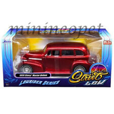 JADA 98914 STREET LOW LOWRIDER SERIES 1939 39 CHEVY MASTER DELUXE 1/24 RED