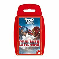 Top Trumps Marvel Captain America Civil War Card Game New Sealed