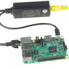 Active PoE Splitter Power Over Ethernet 48V to 5V 2.4A Micro USB 4 Raspberry GT