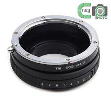 EOS-M43 Tilt Adapter for EF EF-S Lens to Micro4/3  G1 E-P3 G2 EPL5 EPL6 GH4 OM-D