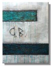 "ORIGINAL BILD abstrakte Malerei moderne Bilder C.GOETHE 60x80 ""VERSUNKEN"""